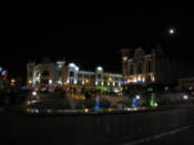 Lenin Square by night