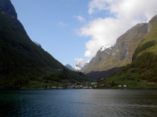 In a fjord near Flam